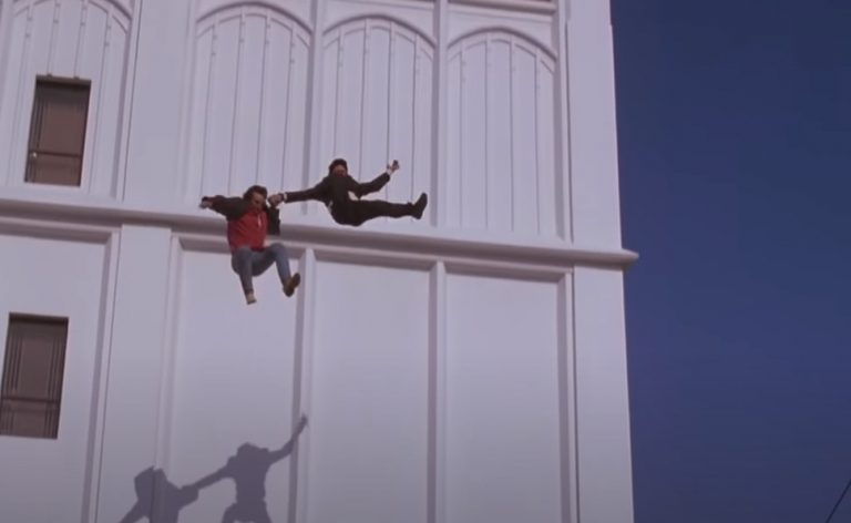 jump from roof movie