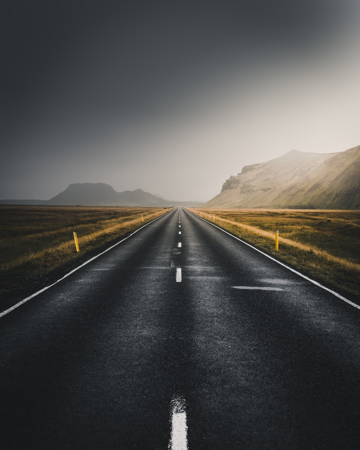 road unsplash