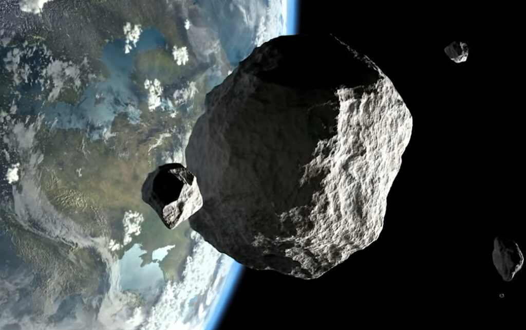 asteroid video